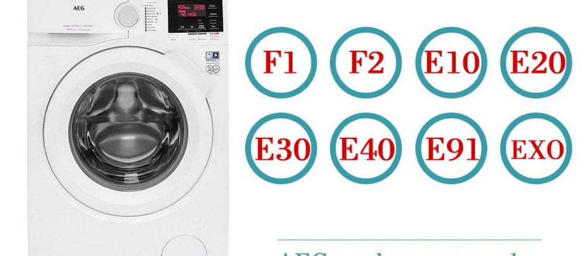 AEG-washer-error-codes